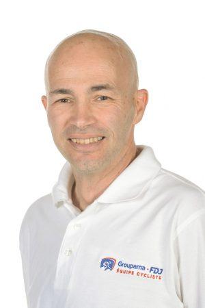 Jérôme Gannat - Directeur Sportif - Equipe Cycliste Groupama-FDJ
