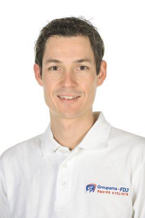 Nicolas Boisson– Entraîneur - Equipe Cycliste Continentale Groupama-FDJ